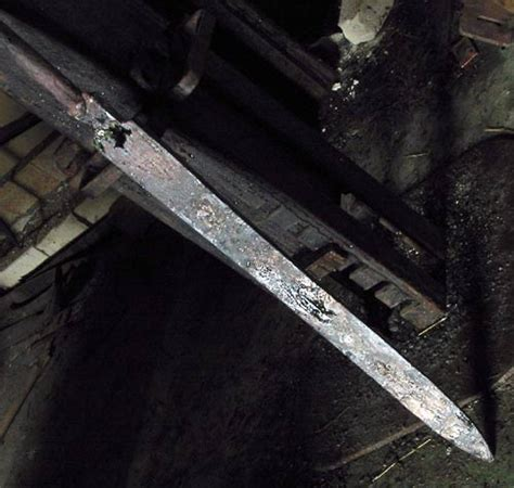 pattern welding forge composite pattern welded viking sword tutorial jake powning