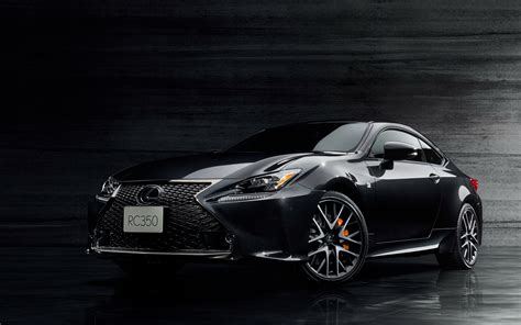 lexus rc 350 blacked out 2018 lexus rc350 f sport prime black edition wallpapers