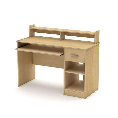 Shelf Computer Desk Computer Desk With Sliding Keyboard Tray Book Shelf Hutch Drawer Storage Shelves Ebay