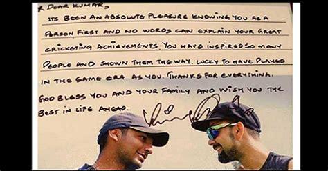 thank you letter to team captain team india s captain virat kohli s thank you message to