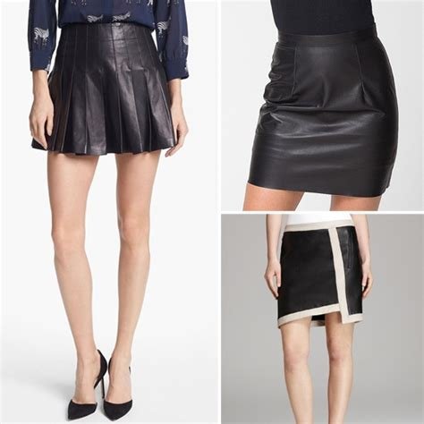 10 best leather skirts rank style