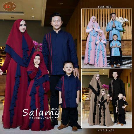 Khimar Layer Pepita gamis salamy family by iz design pusat