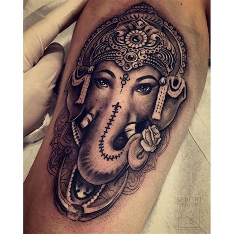 ganesha tattoo ganesha tattoo ganesh on instagram