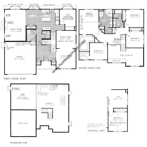 homes by marco floor plans riverton model in the wesmere subdivision in plainfield