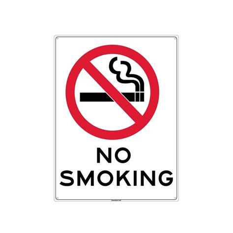 no smoking sign plastic bunnings sandleford sandleford 450 x 600mm no smoking