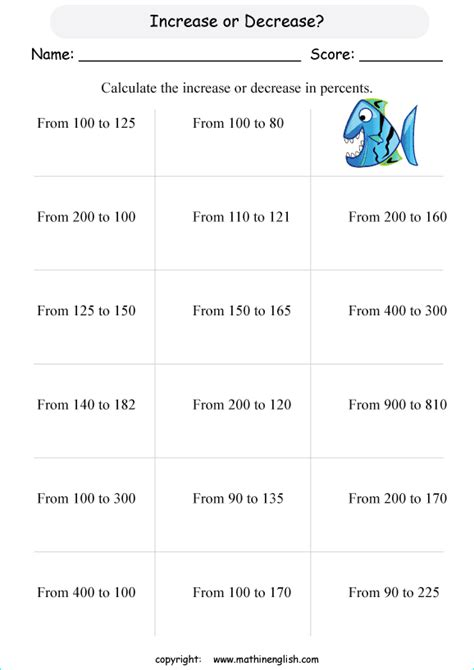 Discount Worksheets by All Worksheets 187 Discount Worksheets Printable