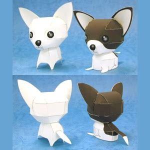 Papercraft Chihuahuas Free Papercraft Templates Pdf
