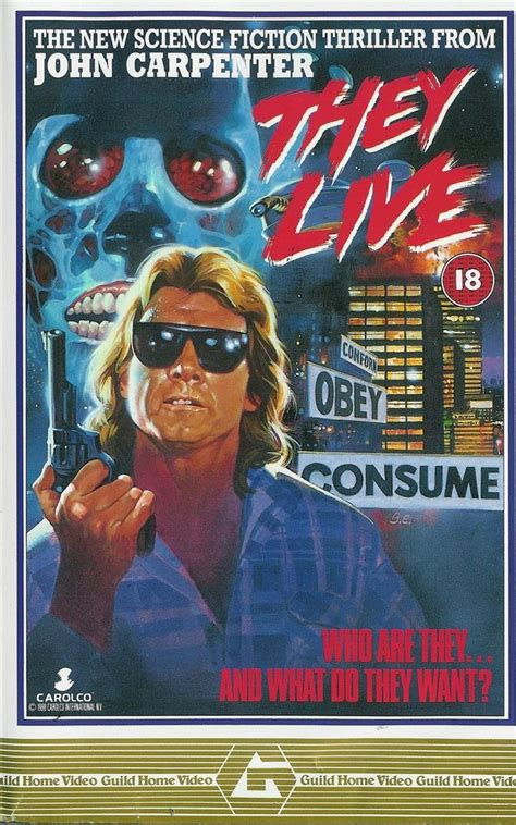 Home Decor Daily Deals by They Live Movie Poster 1988 John Carpenter Rowdy Roddy
