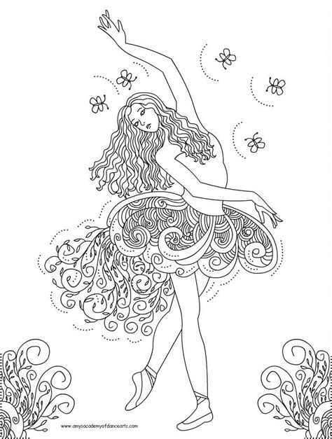 free printable coloring pages free printable ballerina coloring pages free ballerina