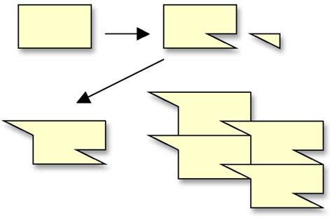 how to make a tessellation template with an index card tessellations
