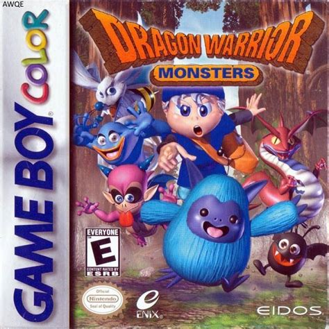 emuparadise dragon quest monster dragon warrior monsters usa rom