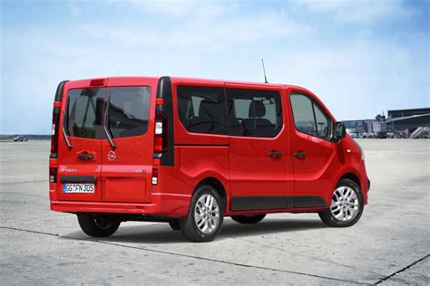 opel vivaro opel vivaro gets combi version for passenger transport