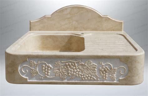 lavelli pietra lavandino in pietra cappuccino mod quot crema di roccia