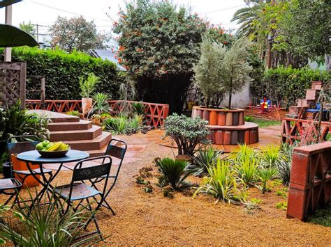 rustic backyard ideas gardens hgtv