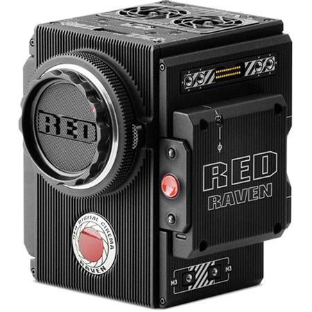 red digital cinema raven brain 4.5k camera with 9.9mp