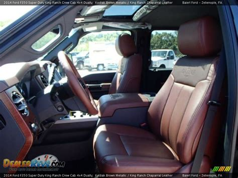 2014 King Ranch Interior by 2014 Ford F 350 Crew Cab 4x4 Dually King Ranch For