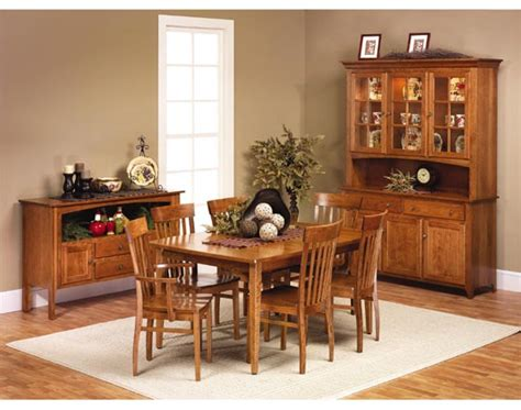 shaker dining room furniture amish dining room