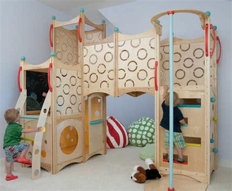 hängeschaukel für drinnen klettern kinderzimmer design