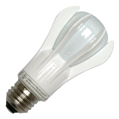 ge led light ge 66390 led9da19 827 a19 a line pear led light bulb