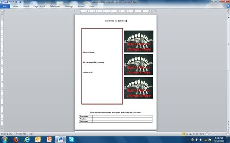 emergent curriculum template idea designing early