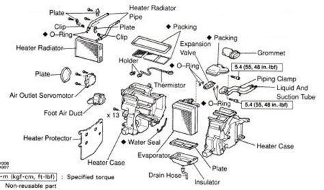 Toyota Air Conditioner Problems 1998 Toyota Camry Water Inside Car Air Conditioning
