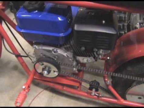 doodle bug mini bike change doodle beast minibike 6 5 hp motor change part 2
