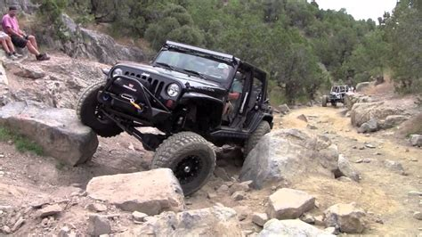 jeep wrangler rubicon offroad rattlesnake trail utah jeep rubicon offroad youtube