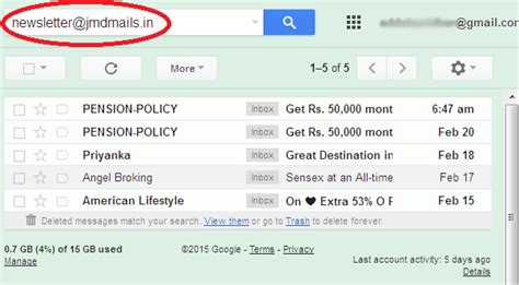 Search Email How To Block Email Address In Gmail