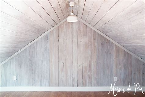 how to whitewash wood panel walls how to whitewash wood maison de pax