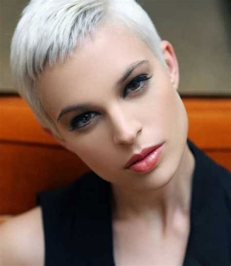 pictures of short hairstyles with side part 21 gorgeous super short hairstyles 8 super short pixie