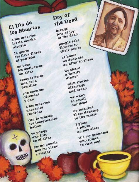 versos para el dia de los muertos 83 best images about poemas infantiles on pinterest