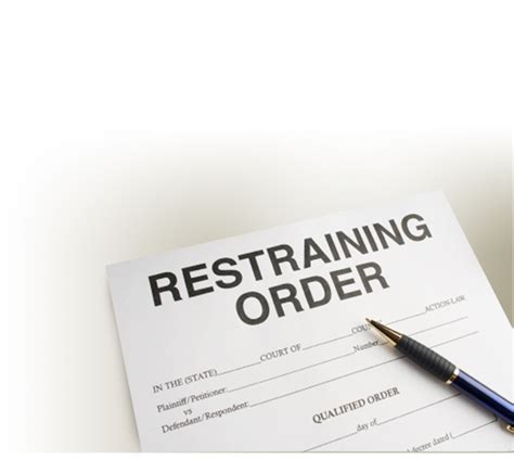 Is A Restraining Order A Criminal Record Restraining Orders Daniel Gindes