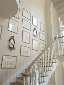 Stair Wall Art by Staircase Art Wall French Entrance Foyer Phoebe Howard