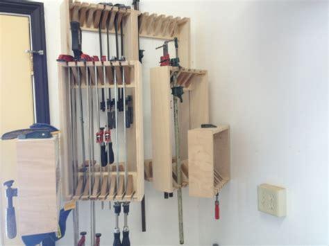 stumpy nubs  tier clamp rack woodworking talk