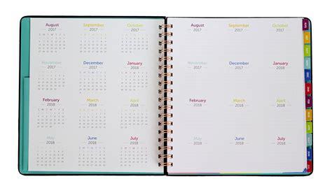planner com time todo planner 2017 2018 academic calendar time
