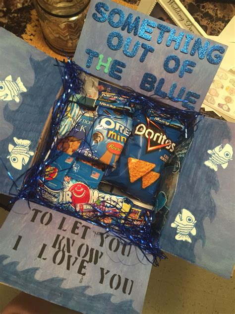 cute idea for a care package for your child in college or