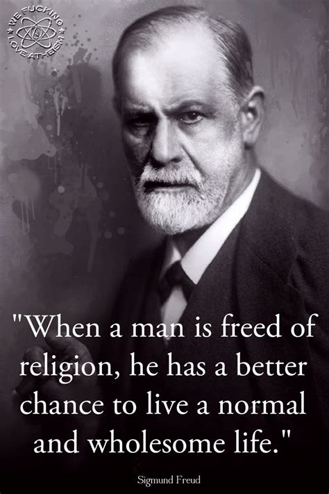 Ateisme Sigmund Frued sigmund freud quotes about god quotesgram