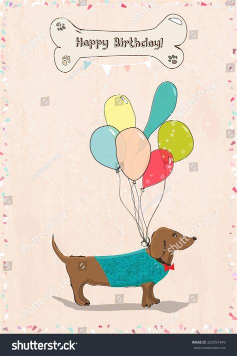 Balon Happy Birthday Car greeting car with balloons and happy birthday vector