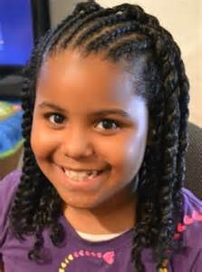 black american hair style on a circle to school little black girls braided hairstyles for school cute