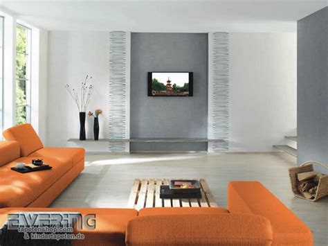 wohnzimmer tapete modern wohnzimmer mit tapeten gestalten