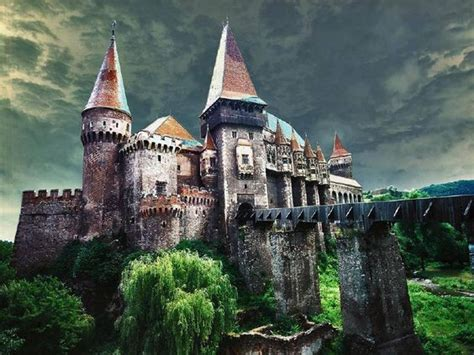 home of dracula castle in transylvania abandoned castle in transylvania romania scary