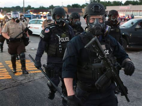 Tactical Officer by Ferguson Are A Small Army And So Are Thousands Of