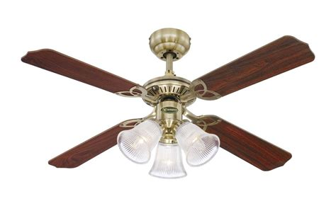 Princess Ceiling Fan by Princess Trio Ceiling Fan With Oak And Mahogany Blades