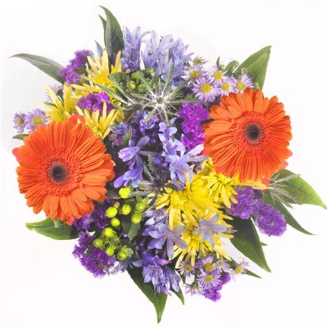 Bridal Centerpieces Flowers by Bridal Centerpieces Orange And Purple Flowers