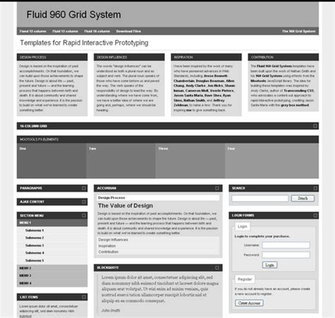 960 grid templates templates 960 grid http webdesign14