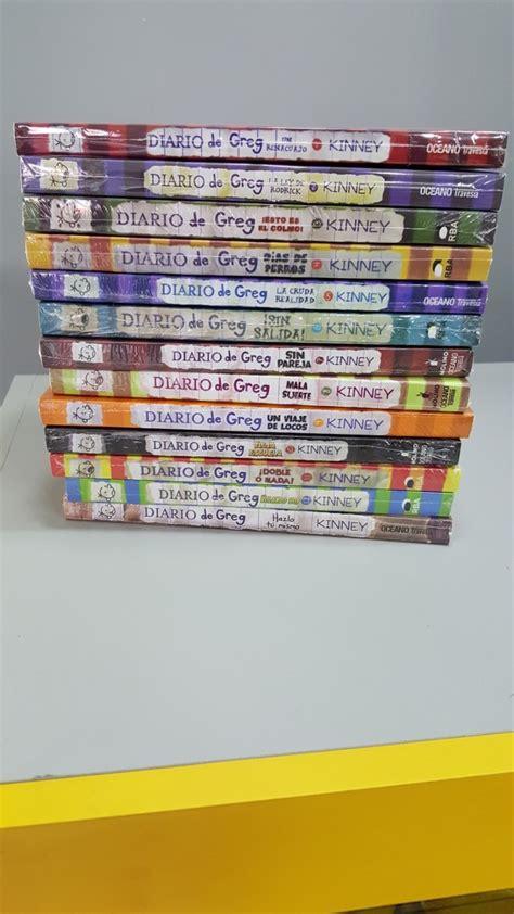 colecci 243 n 13 libros diario de greg jenga regalo 845 00 en mercado libre