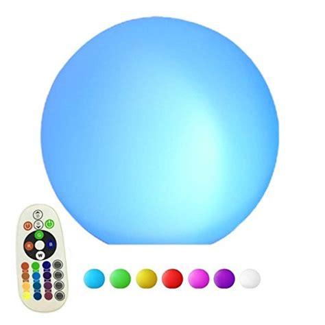 eclairage led multicolore les boule multicolore