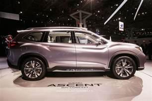 3 Row Subaru Subaru Ascent Suv Concept Aims For Three Row