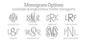 free printable monogram initials resume cover letter