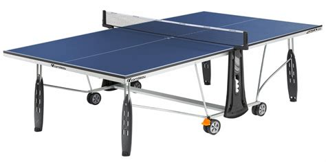 Indoor Ping Pong Table by Cornilleau 250 Indoor Blue Ping Pong Table